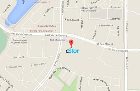 cStor Headquarters location - Arizona