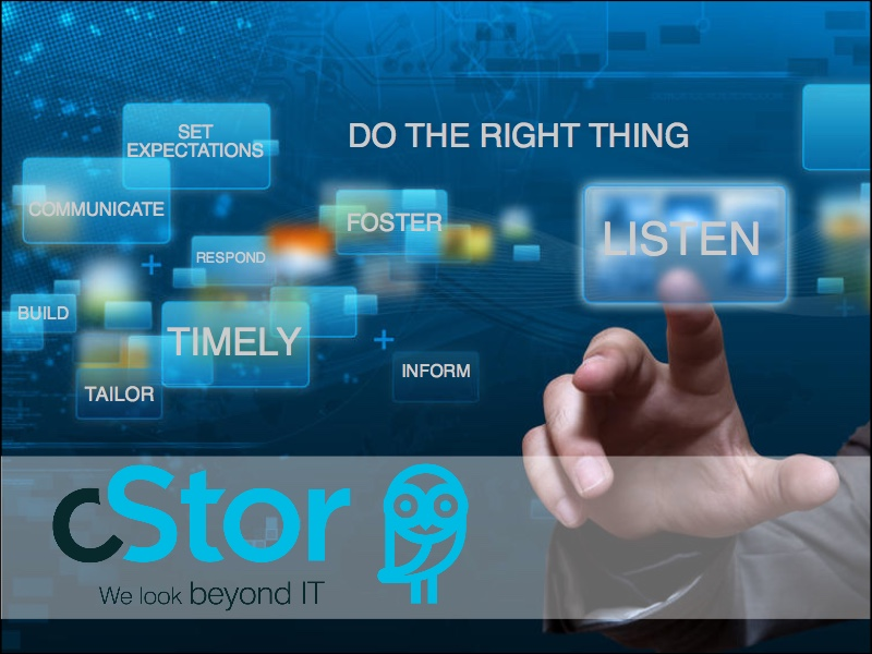cStor Customer Service - Client Focus