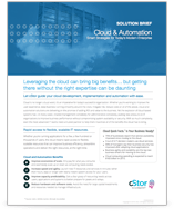 cloud and automation solutions