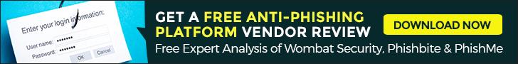 best anti-phishing platform vendor review