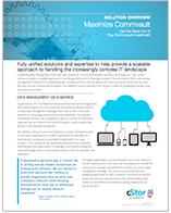 Cloud Backup & Recovery for Commvault - cStor