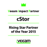 cStor Named Rising Star Partner of the Year by Veeam