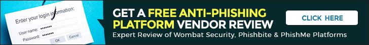 anti-phishing platform vendor review - FREE REPORT - Terra Verde - cStor