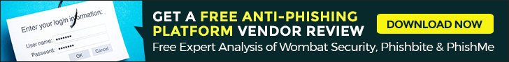 best anti-phishing platform vendor review
