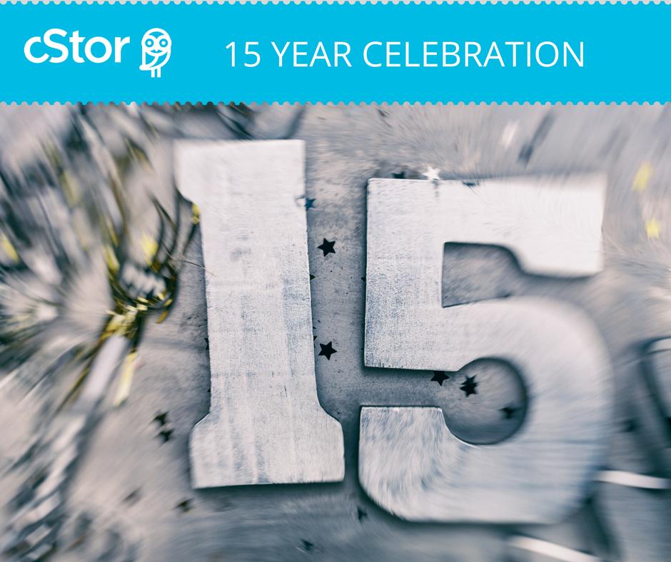 cStor 15th Anniversary