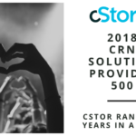cStor Named to CRN's 2018 Solution Provider 500 List