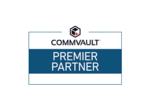 Commvault Premier Partner Logo