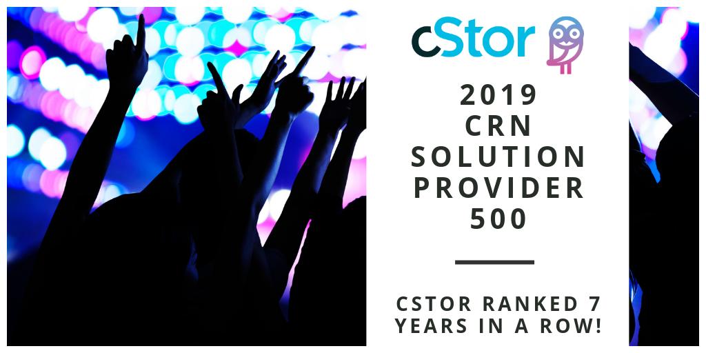 CRN 2019 Solution Provider 500